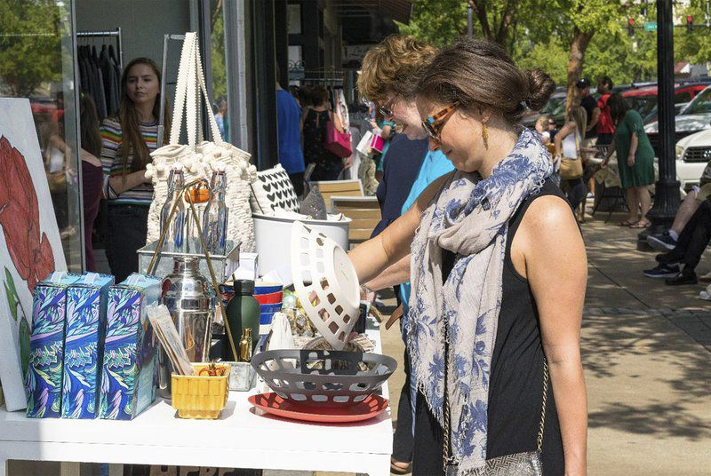 Semi-Annual Downtown Sidewalk Sale Event Photo