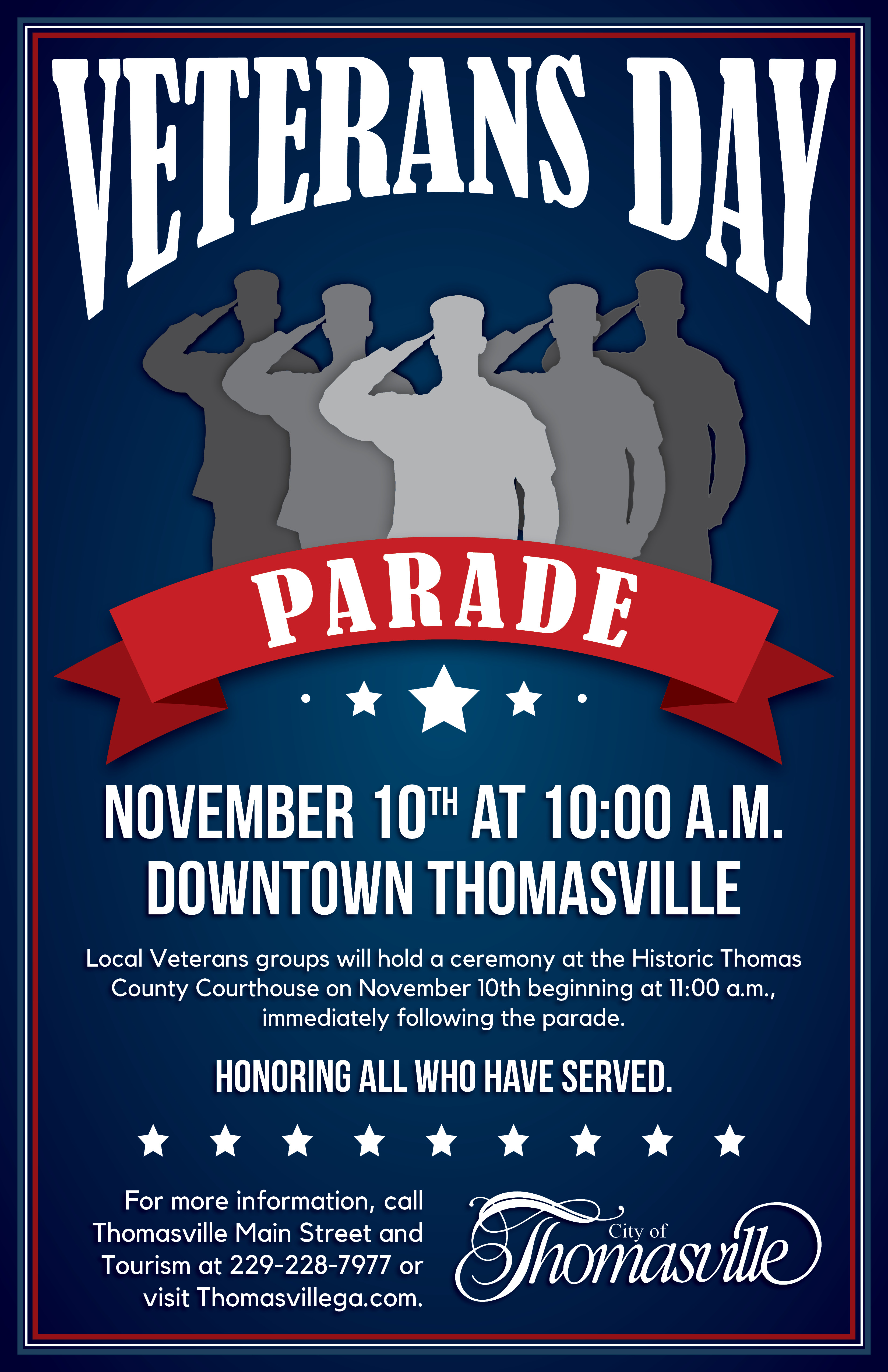 Veterans Day Parade Event Photo