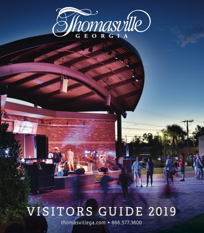Thomasville Visitors Guide cover